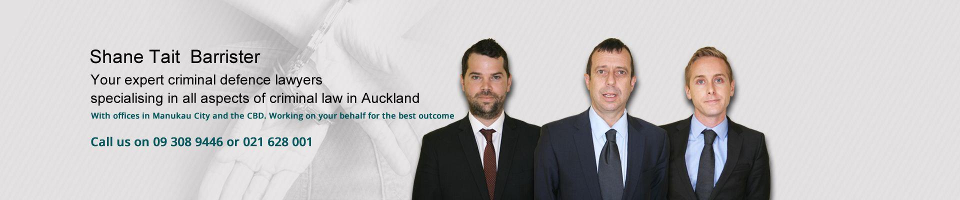 Shane Tait Auckland Criminal Lawyer